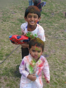 At play - Festival of Colors