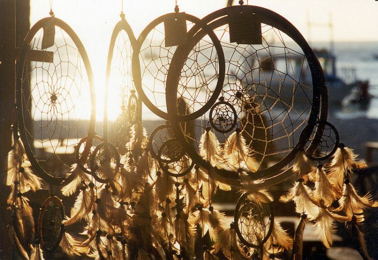 Sun rays and the Dreamcatcher