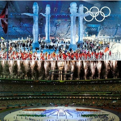 Winter Olympics Canada - CommonWealth Games India