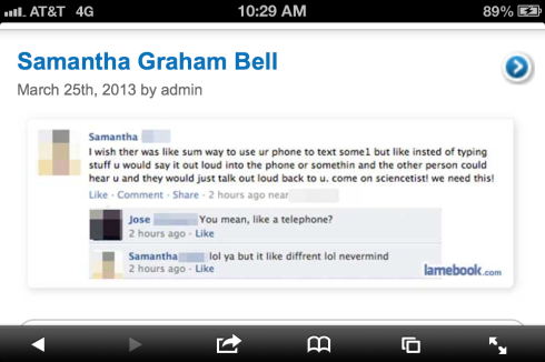Samantha Graham Bell